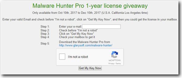 GlarySoft license key