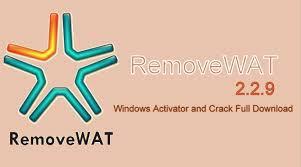 RemoveWAT 2.2.9 crack free