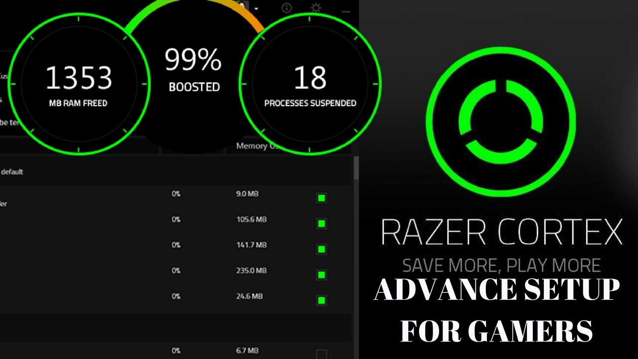 Razer cortex games booster free for pc