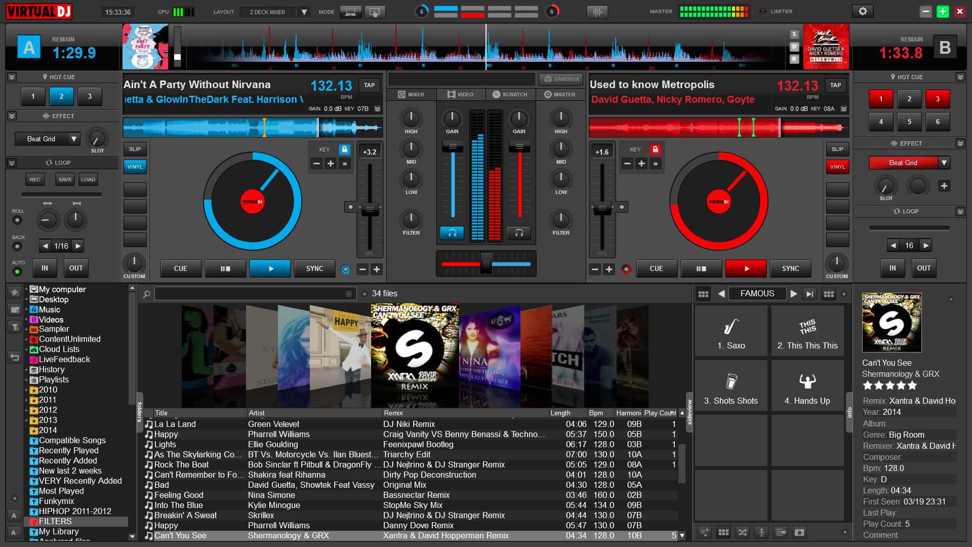 Virtual DJ Pro 8 free download for window