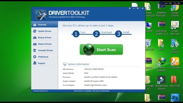 Driver Toolkit 8.5 free for window
