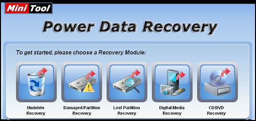 MiniTool Power Data Recovery free for pc