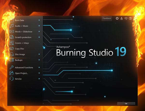 Ashampoo Burning Studio 2021 free for mac
