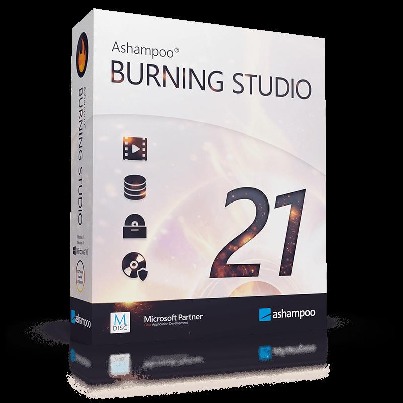 Ashampoo Burning Studio 2021 free for pc
