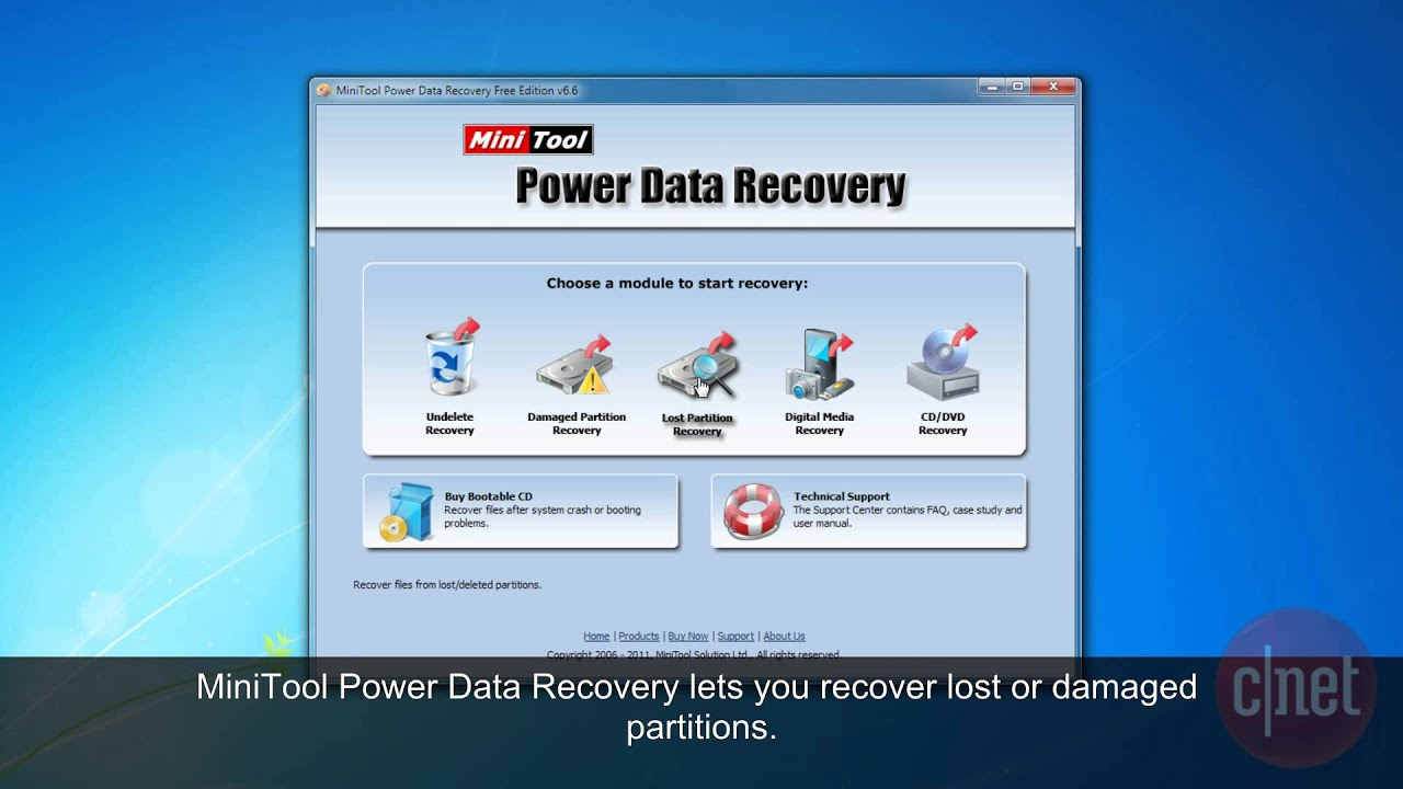 MiniTool Power Data Recovery free for window