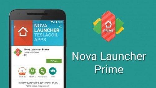 Nova Launcher Prime APK free for window
