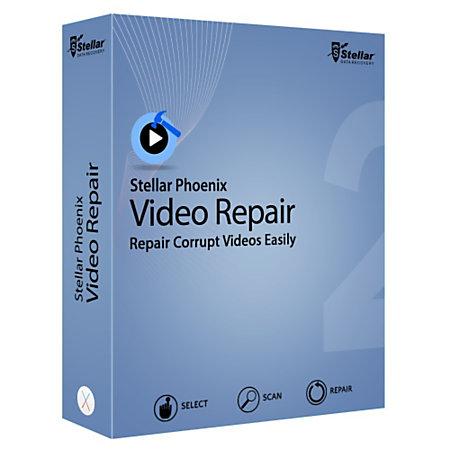 Stellar Phoenix Video Repair Software 5.0.0.2 Crack Download